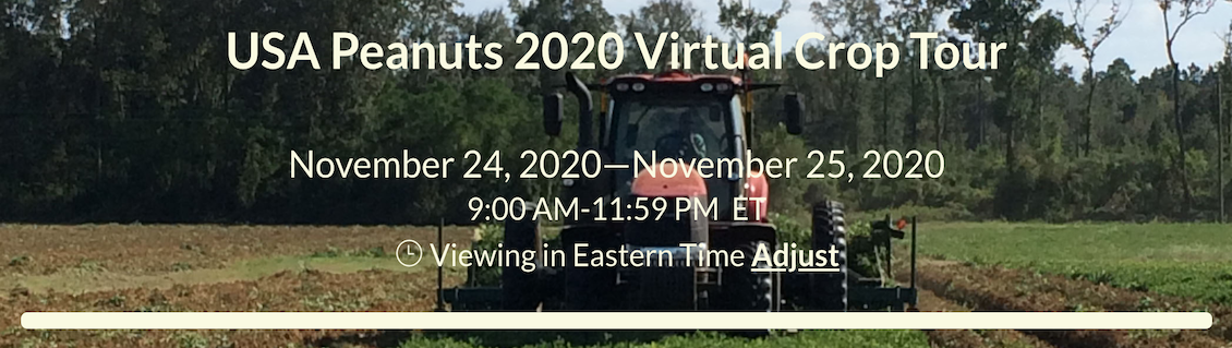 USA Peanuts 2020 Virtual Crop Tour